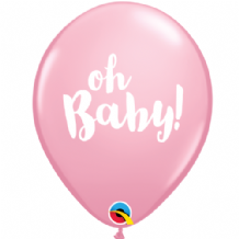 Oh Baby Pink - 11 Inch Balloons 25pcs